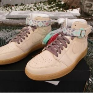 817344c0a51 Nike Shoes | Mens Air Jordan 1 Retro Hi Strap N7 Light Cream | Poshmark